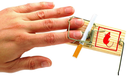 Курение провоцирует развитие гастрита и тромбоза